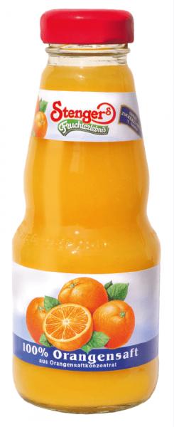 Stenger Orangensaft 100% 12x0,2l