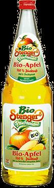 Stenger Bio Apfelsaft Klar 100% 6x1,0l