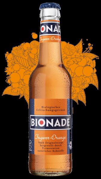 Bionade Ingwer Orange 12x0,33l