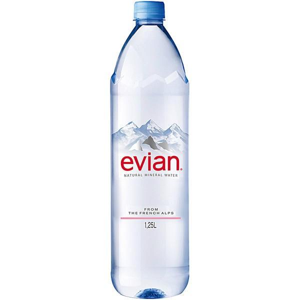Evian Naturell 6x1,25l Pet