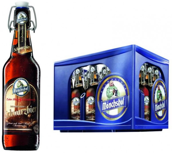 Mönchshof Schwarzbier 20x0,5l Bügel