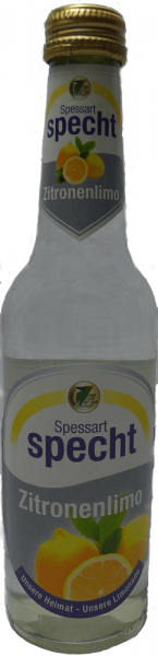Spessart Specht Zitronenlimonade 20x0,33l