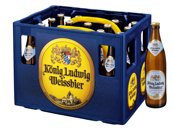 König Ludwig Weißbier Alkfrei 20x0,5l