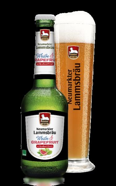 Lammsbräu Weiße und Grapefruit Alkoholfrei 10x0,33l