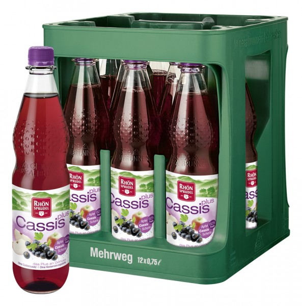 Rhön Sprudel Cassis Plus 12x0,75l Pet