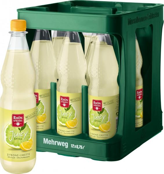 Rhön Sprudel Juicy Zitrone Limette 12x0,75l Pet