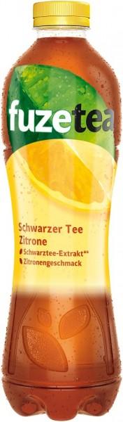 Fuze Tea Schwarz Tee Zitrone 6x1,0l