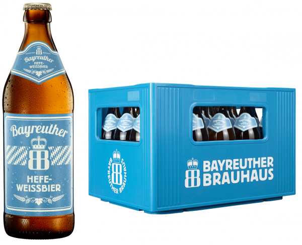 Bayreuther Weißbier Hell 20x0,5l