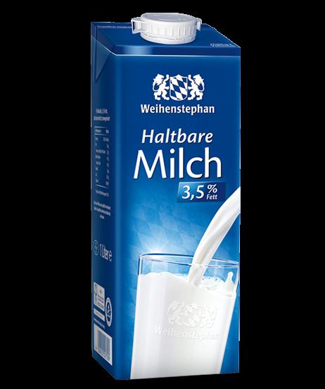 Weihenstephan H-Milch 3,5% 1,0l