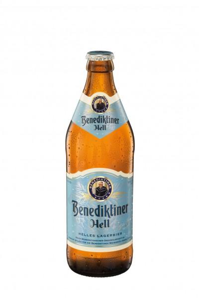 Benediktiner Hell 20x0,5