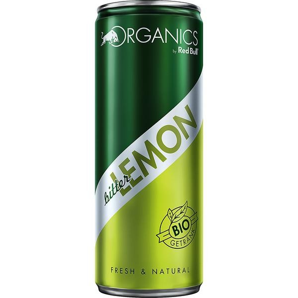 Organics by Red Bull Bitter Lemon BIO 24x0,25l-Copy