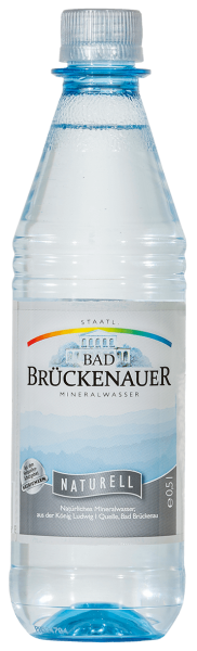 Bad Brückenauer Naturell 20x0,5l Pet