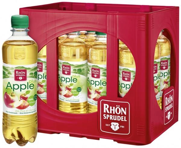 Rhön Apfelschorle Plus 12x0,5l Pet