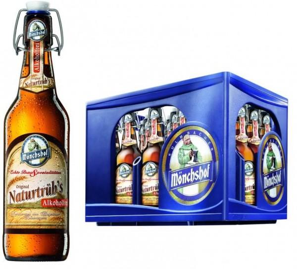 Mönchshof Naturtrüb Alkoholfrei 20x0,5l Bügel