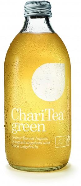 ChariTea Bio Green Grüntee Ingwer 20x0,33l