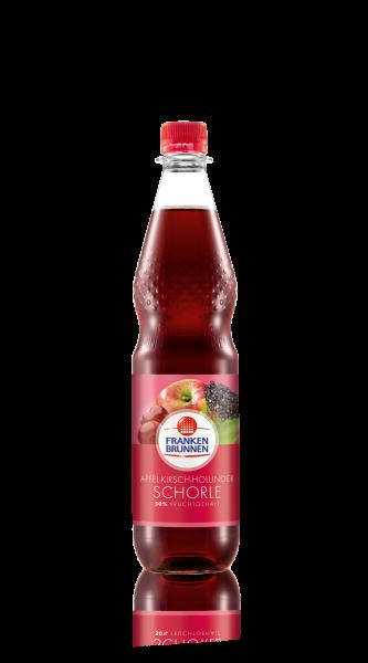 Franken Brunnen Apfel Kirsch Holunder Schorle 12x0,75l Pet