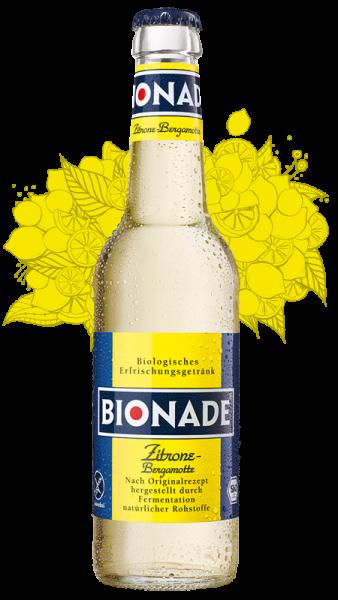 Bionade Zitrone Bergmotte 12x0,33l