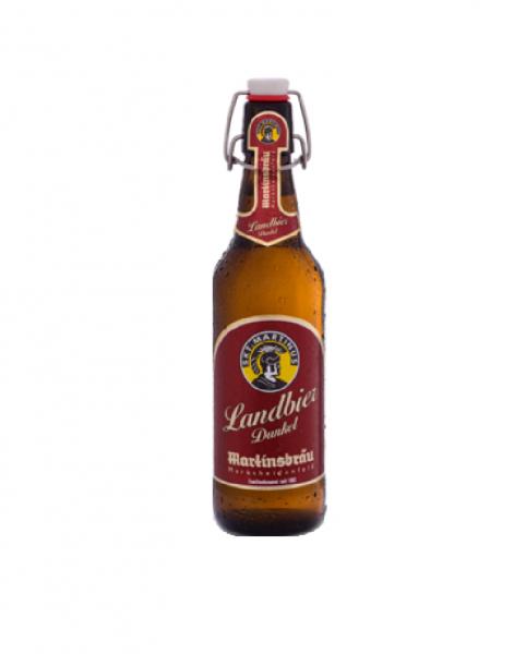 Martinsbräu Landbier Dunkel 20x0,5l Bügel