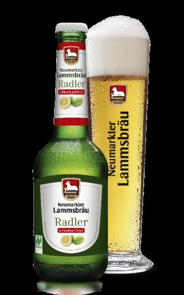 Lammsbräu Radler Alkoholfrei 10x0,33l