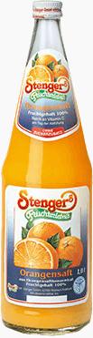 Stenger Orangensaft 100% 6x1,0l
