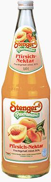 Stenger Pfirsich Nektar 6x1,0l