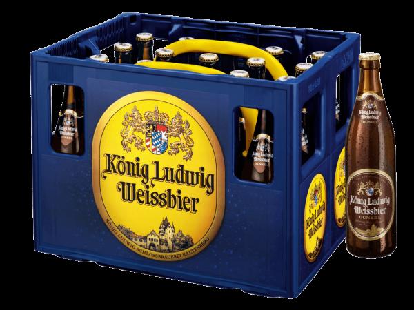 König Ludwig Weissbier Dunkel 20x0,5l