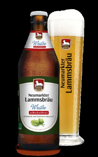 Lammsbräu Weiße Alkoholfrei 10x0,5l
