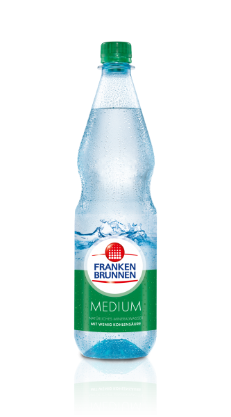 Franken Brunnen Medium 12x1,0l