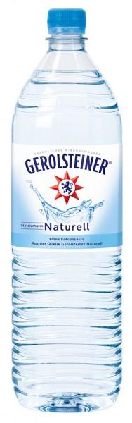 Gerolsteiner Naturell 6x1,5l Pet