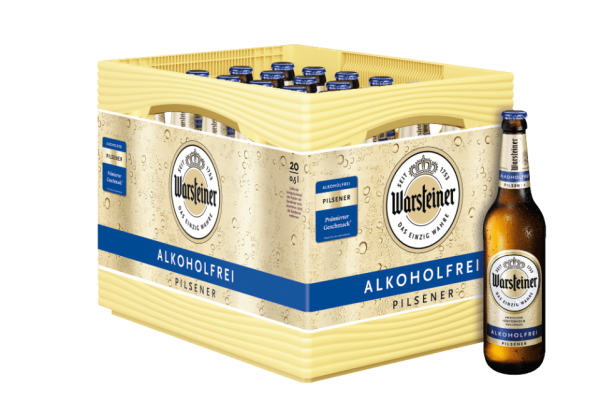 Warsteiner Pils Alkoholfrei 20x0,5l