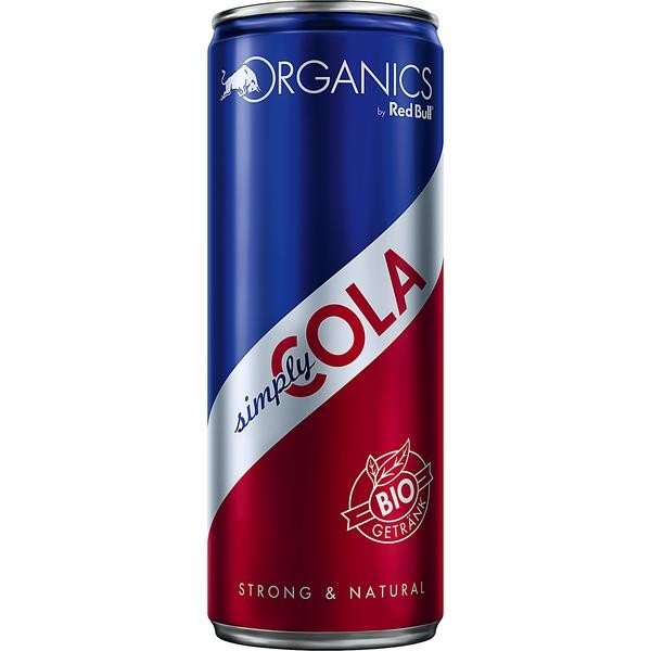 Organics by Red Bull Simply Cola BIO 24x0,25l