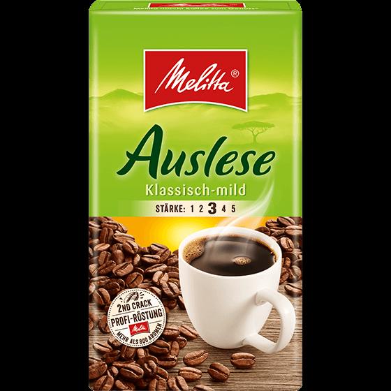 Melitta Auslese Klassisch-mild Filterkaffee 500g