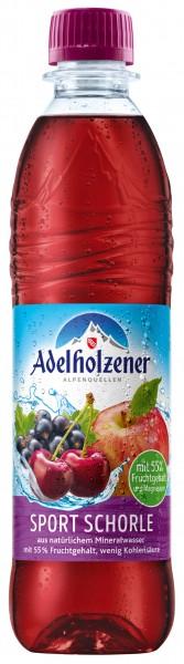 Adelholzener Schorle Sport 12x0,5l Pet