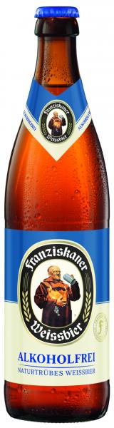 Franziskaner Hefe Weißbier Alkoholfrei 20x0,5l