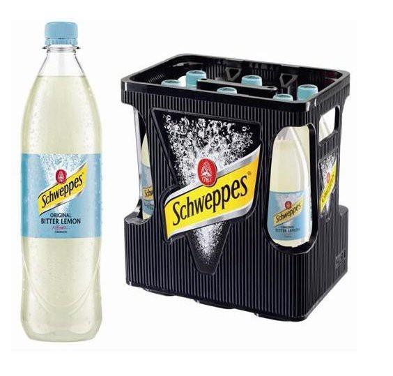 Schweppes Bitter Lemon 6x1,0l