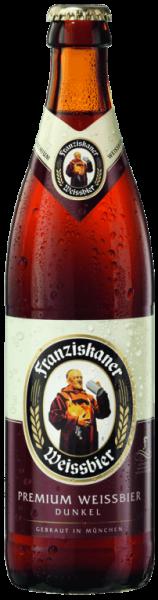 Franziskaner Hefe Weißbier Dunkel 20x0,5l